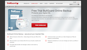 BullGuard.com backup website