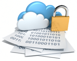 Secure cloud backup service